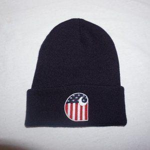 CARHARTT USA Flag watch cap beanie LTD Edition